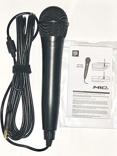 Rock Band USB Karaoke Microphone for PS3, PS4, X-Box One, X-Box 360, PC & Mac (Certified Refurbished)