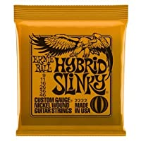 【国内正規品】 ERNIE BALL アーニーボール #2222 Hybrid Slinky (09-46) エレキギター弦