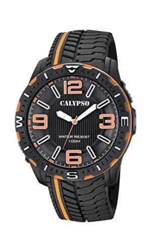 Calypso Watches Orologio Analogico Quarzo Uomo con Cinturino in Plastica K5762/3