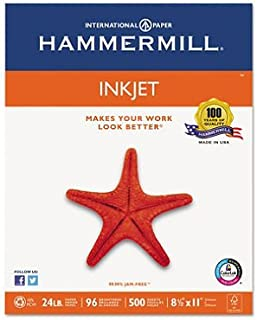 Inkjet Paper, 96 Brightness, 24Lb, 500 Sheets/Ream (2)