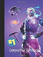 #1 Composition Notebook: Galaxy | Premium Wide Rule Composition Notebook | #1 Victory Series