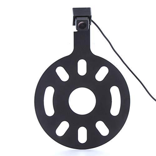 Caméra de recul HD CCD - Caméra couleur - Vision nocturne et système de recul - Étanche et résistante aux chocs - Pour Jeep Wrangler/Willys/Unlimited Sahara Spare Tire Rubicon 2007 à 2015