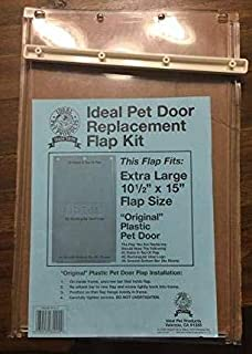 Ideal Pet Door Replacement Flap for Plastic Frame Door - Old Style, X-Large