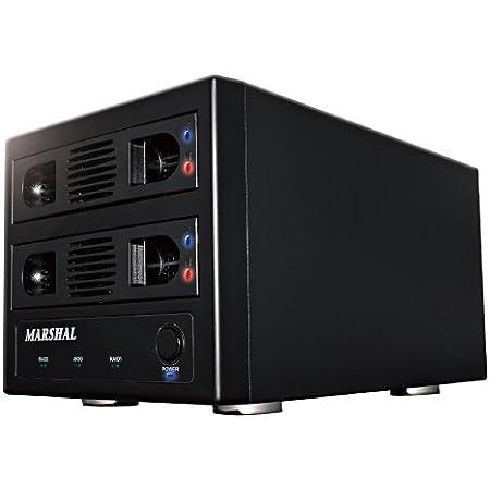 MARSHAL RAID対応 SATA3.5&SATA2.5インチHDD2台ケース RAID TOWER2 CS5028 MAL352U3RS3