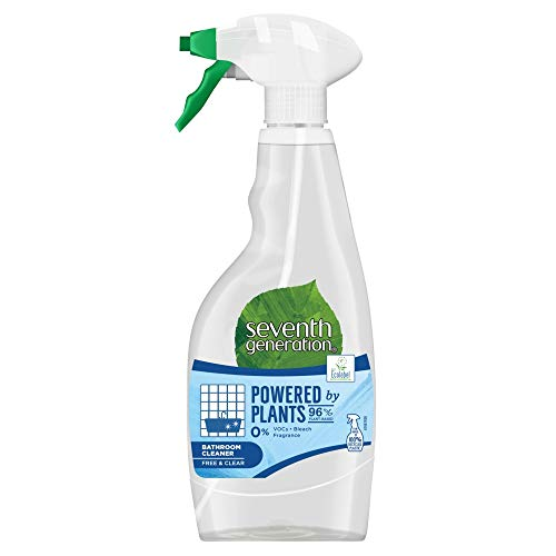Seventh Generation Bathroom Spray Bacteria Killing Cleaning And Disinfectant Spray For Clean And Hygenic Home And Kitchen Care, Made With 100 Percent Recycled Fibres (500 ml)