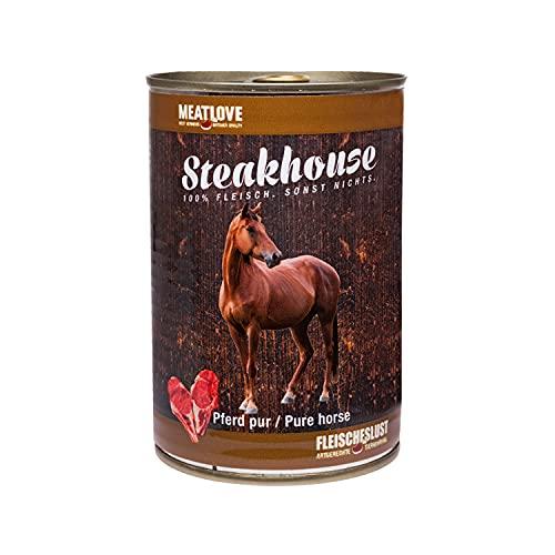 Fleischeslust Steakhouse Pferd Pur, 1er Pack (1 x 410 g)