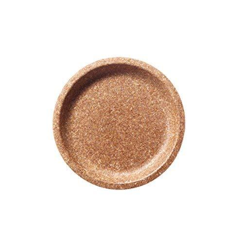 "10 Pack Wheat Bran Plates 100% Biodegradable. 7,9"" plate Ø 20 cm"