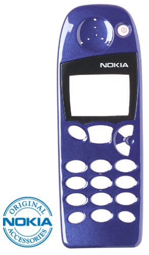 Nokia Faceplate for Nokia 5100 Series Phones, Bermuda Blue