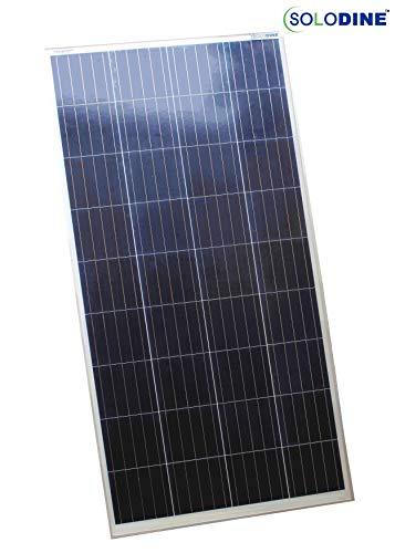 Solodine 150 Watt 12 Volt Polycrystalline Solar...