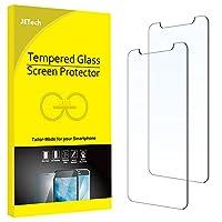 JEDirect iPhone11Pro/iPhoneXs/iPhoneX 用 強化ガラス 液晶保護フィルム 5.8インチ 2枚セット