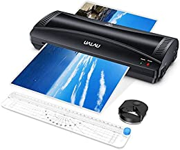 UALAU 9 Inches Laminator Machine for A4/A5/A6, 4 in 1 Thermal Laminator with 20..