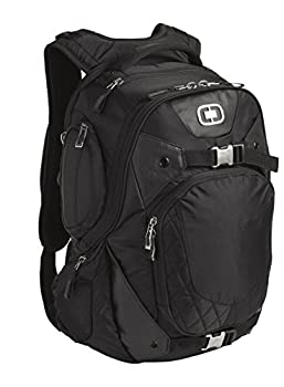OGIO Squadron Pack Black 17  Laptop/MacBook Pro Black Backpack