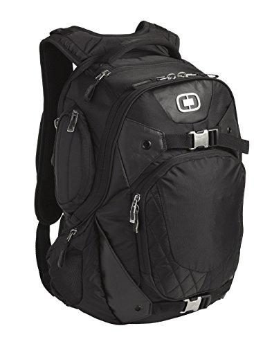 "OGIO Squadron Pack Black 17"" Laptop/MacBook Pro Black Backpack"