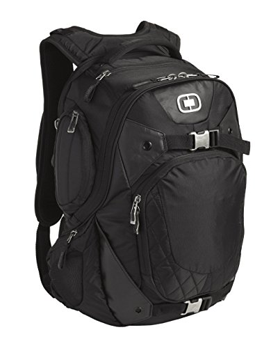 "OGIO Squadron Pack Black 17"" Laptop/MacBook Pro Black Backpack"