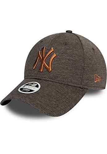 New Era New York Yankees MLB Cap New Era 9forty Baseball Damen Verstellbar Grau Rosa - One-Size