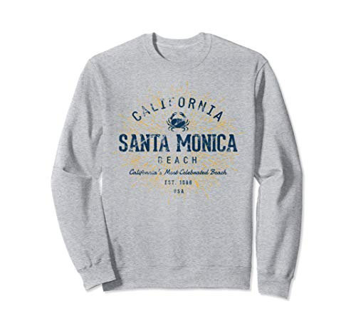 Vintage Santa Monica Beach Sweatshirt