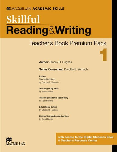Skillful Level 1 Reading & Writing Teacher's Book Premium Pack