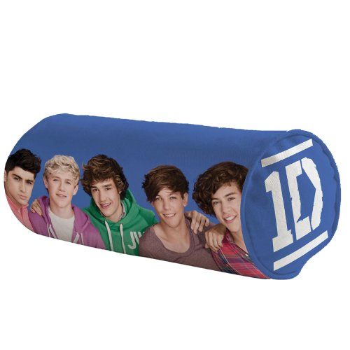 One Direction 52492-1D Cuscino con Microbeans, 40x15 cm
