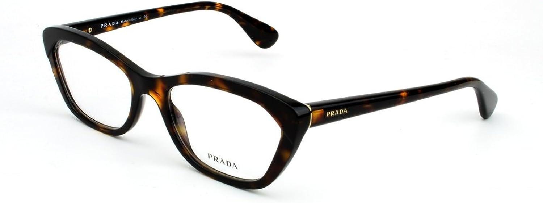 Prada PR03QV Eyeglasses2AU 1O1 Havana54mm