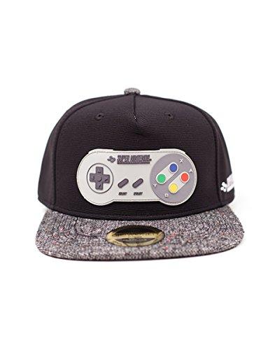 Nintendo: Super Nintendo Controller Rubber Patch Snapback Multicolor (Cappellino)