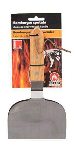 Edco 871125234777 12 x 22 cm Barbecue Hamburger Spatule