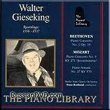 Walter Gieseking - Piano Berlin State Opera, Hans Rosbaud Recordings: 1936 - 1937 (UK Import)
