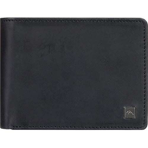 Quiksilver Herren Mack X Wallet Geldbörse, schwarz, Medium