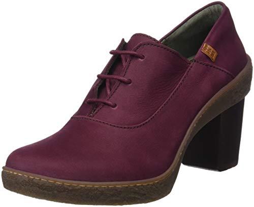 El Naturalista Lichen, Zapatos de tacón con Punta Cerrada Mujer, Rojo (Rioja...