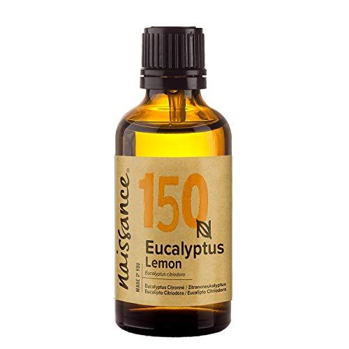 Naissance Eucalipto Citriodora 50ml - Olio essenziale puro al 100%, Puro, Naturale, Cruelty Free, Vegan e Non Diluito