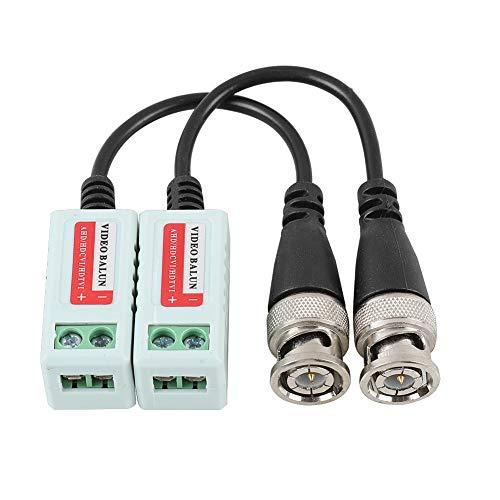 HD Video BalunMini CCTV BNC Video Balun Cable del Transceptor Utilizado para Sistemas de Cámaras de Seguridad/Vigilancia CCTV
