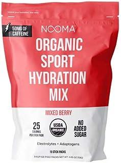 NOOMA Organic Sport Hydration Mix | Naturally High in Electrolytes + Adaptogens | Keto, Vegan, Gluten Free ...