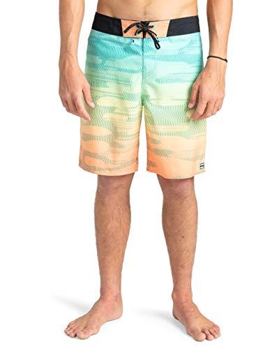 """BILLABONG™Resistance 18.5"""" - Board Shorts - Men - 38 - Orange"""