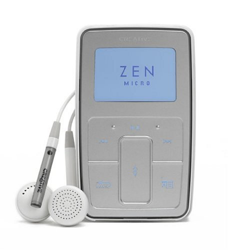 Creative Zen Micro SE 5GB–Silber