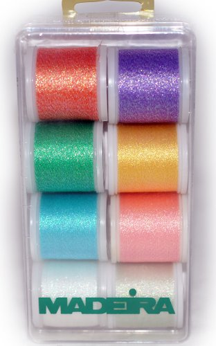 Why Should You Buy Madeira Metallic Thread Pack Opal 8 20928010