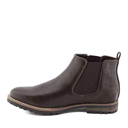 Toocool - Botas Chelsea para hombre, zapatos Beatles Polainas Anfibi Elegantes LO-Y28 Marrón Size: 41 EU