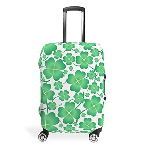O3XEQ-8 St Patrick's Day - Cobertor de Equipaje de Viaje - Protección Elegante para Maleta con Ruedas, Blanco (Blanco) - O3XEQ-8-scc