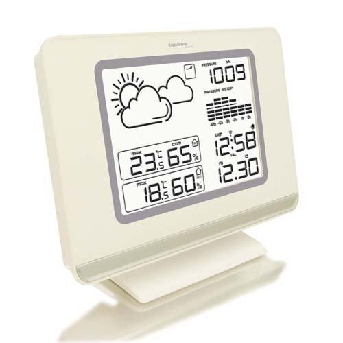 Wetterstation WS 7019 mit Vorhersage von Wettersituation, Anzeige von Wettertendenz und Luftdruck