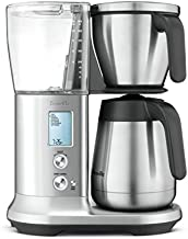 Breville Precision Brewer Thermal Coffee Maker, Brushed Stainless Steel, 13.5