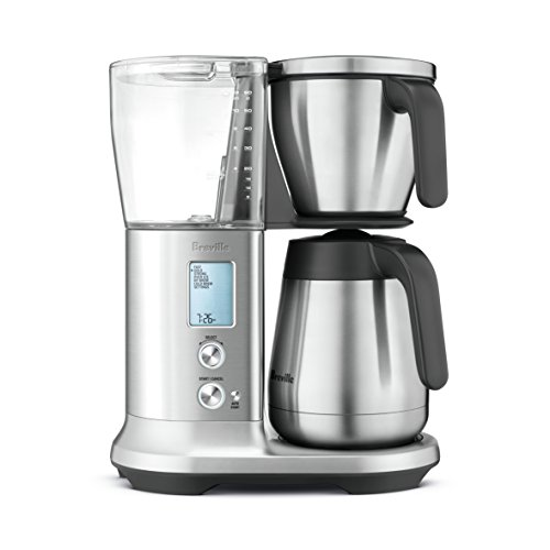 "Breville Precision Brewer Thermal Coffee Maker with PID temperature control, 13.5"" x 9"" x 16"", Stainless Steel"
