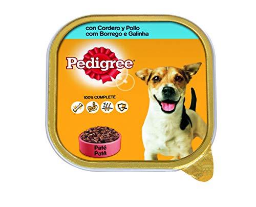 Tarrina para perros adultos de cordero y pollo 300g   [Pack de 20]