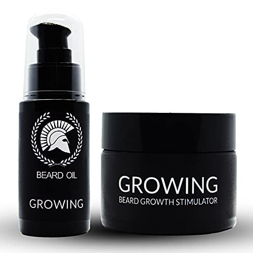 Nuevo en Amazon! Kit Incenvador de Crecimiento para Barba. 92% de efectividad. 100% orgánico. Envío en 24 horas. Ganador Premio Producto más vendido en Brasil y Argentina 2019!