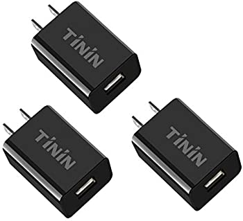 3-Pack Quick Charge 3 USB-A 18W Wall Charging Adapter