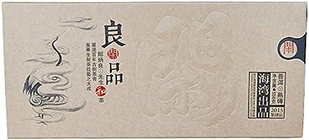 Pu'er Tea 2015 Old Comrades Leisure Products Pu'er Cooked Tea 550g/brick tea Tea 普洱茶 2015年老同志 良闲品 普洱熟茶 550克/砖茶