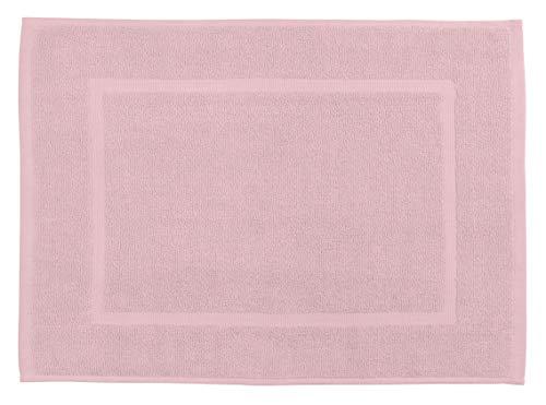 Allstar Frottier Badematte Zen Rosa 60 x 40 cm - Duschvorleger, Baumwolle, 60 x 40 cm, Rosa