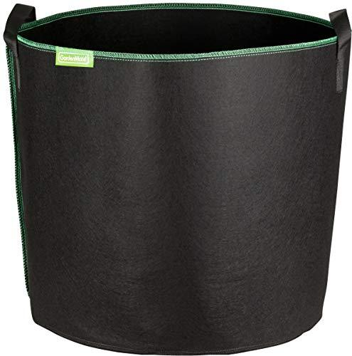 GardenMate 6X 95L Bolsas de Tela no Tejida para Plantas - Altura 42 cm Ø 53,3 cm - GREENLINE