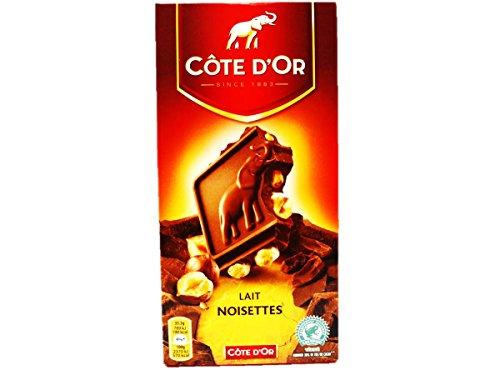 COTE D'OR Bloc nocciola latte intero (4 x 180g)