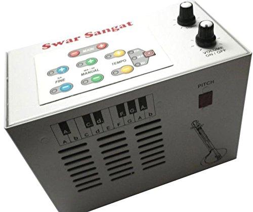 SWAR SANGAT indische digitale Tanpura Drohne für vokale und instrumentale Begleitung. Metallkörper nicht aus Kunststoff. einfache Drehknopfkontrollen