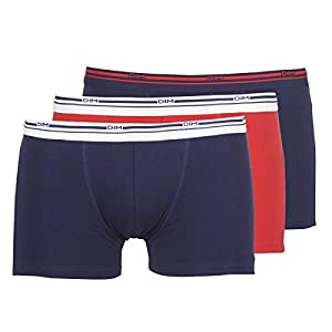 DIM Daily Colors Boxer x3 Boxer Hommes Azul/Rojo Boxer