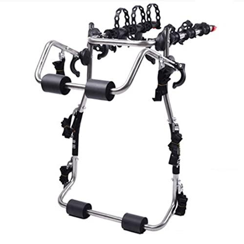 LZL Trunk Mounted Bike Rack for Most Car SUV (Sedans/Hatchbacks/Minivans) 3-Bike Trunk Mount Bicycle Carrier Rack. (Color : B)