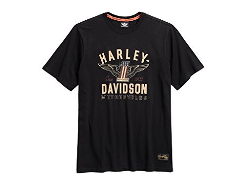HARLEY-DAVIDSON Men's #1 Genuine Classics Graphic Tee T-Shirt, 99033-17VM, XL